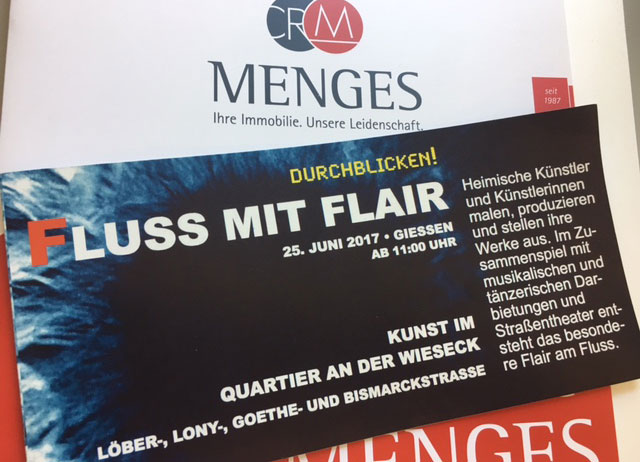 Fluss mit Flair am 25. Juni 2017